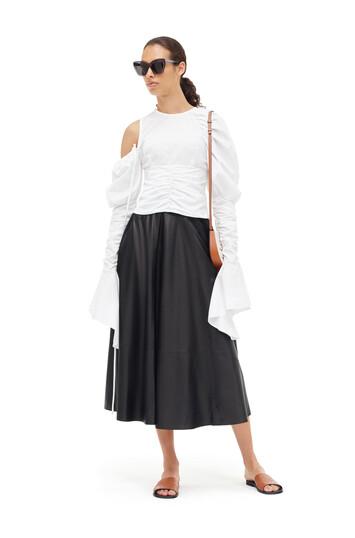 LOEWE Skater Skirt Black front