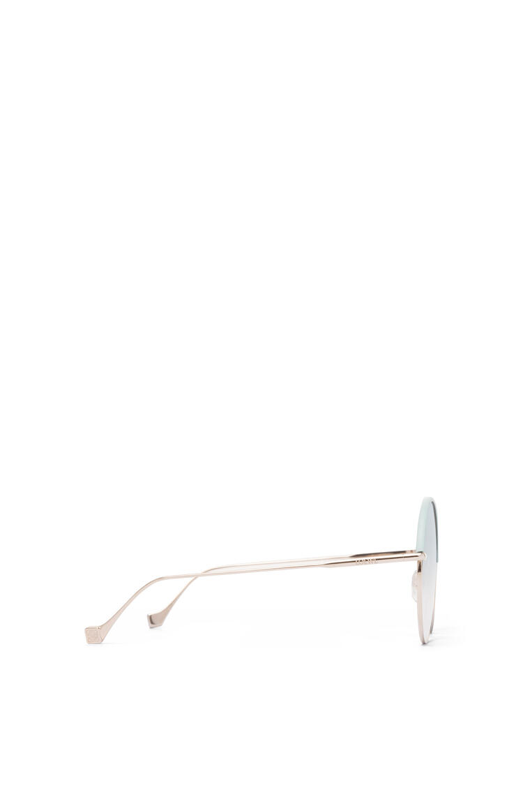 LOEWE Round Sunglasses Sky Blue/Gradient Turquoise pdp_rd