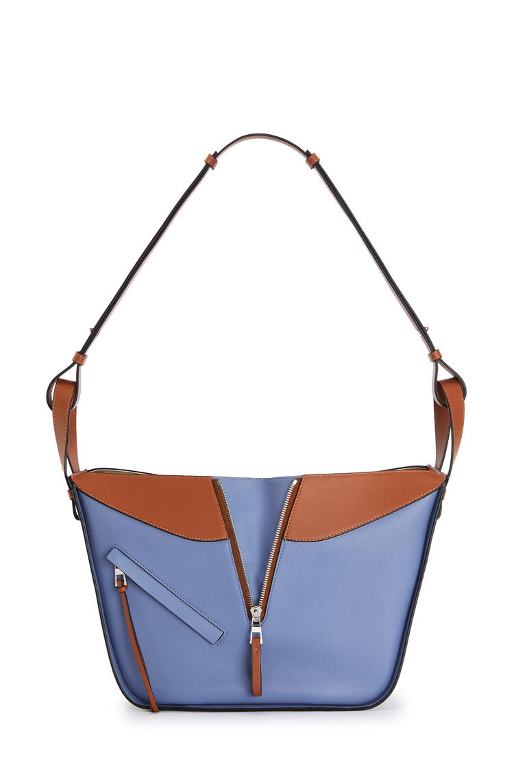 LOEWE Small Hammock Bag In Classic Calfskin Blueberry/Kaolin pdp_rd