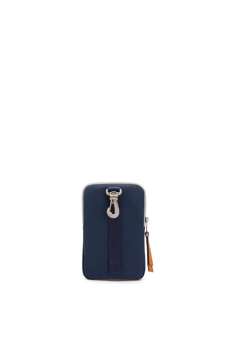 LOEWE Case in canvas Electric Blue/Navy Blue pdp_rd