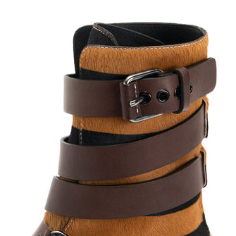LOEWE Strappy Boot Camel/Black front