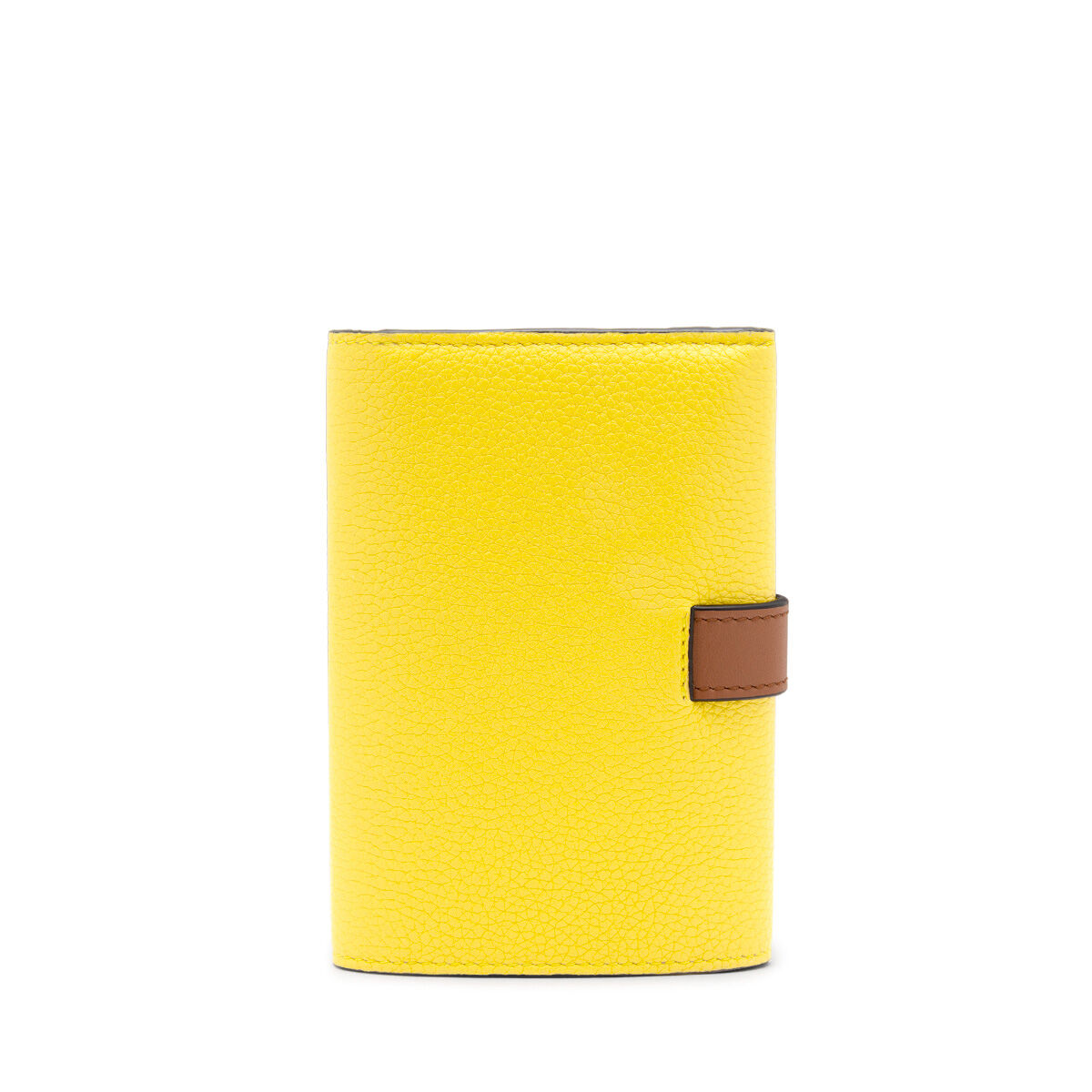 LOEWE Small Vertical Wallet Leaf/Yellow all