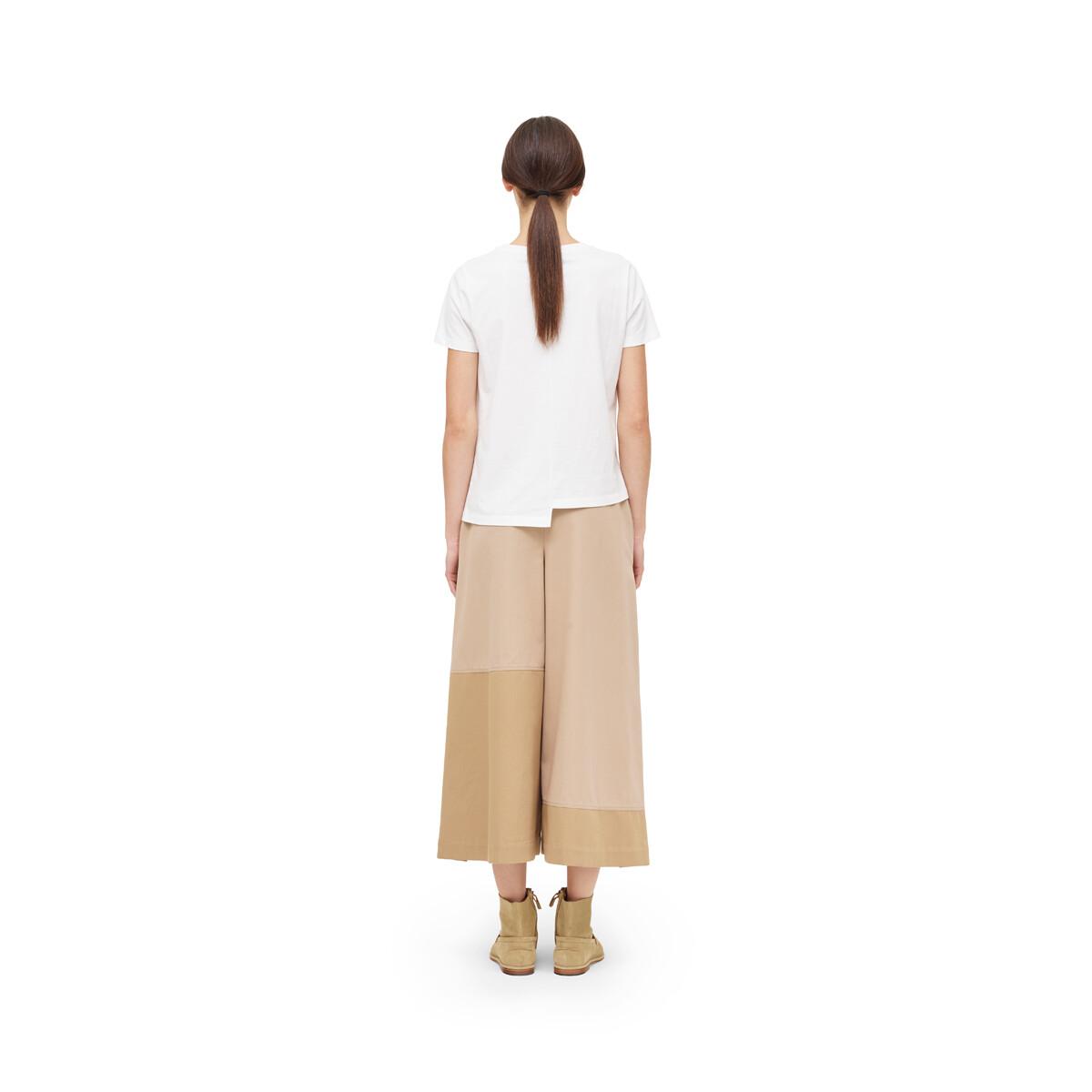 LOEWE Asymmetric Anagram T-Shirt White front