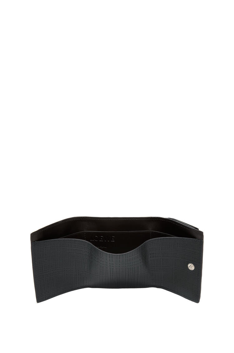 LOEWE Trifold Wallet In Calfskin 黑色 pdp_rd