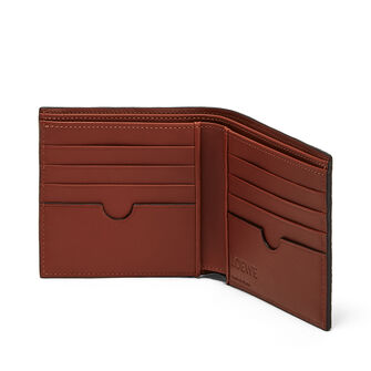 LOEWE Bifold Wallet Lion Desert front