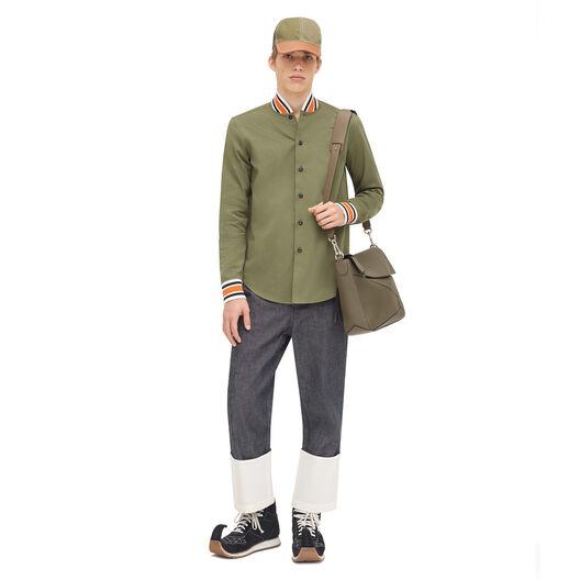 LOEWE Khaki Shirt Verde Kaki all