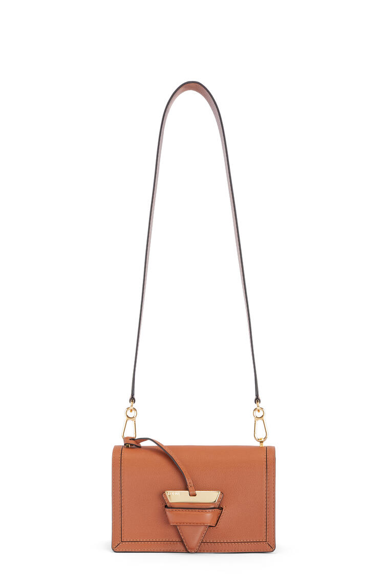 LOEWE Barcelona bag in soft grained calfskin Tan pdp_rd