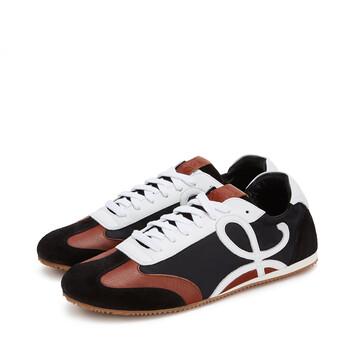 LOEWE Sneaker Black/White/Brown front