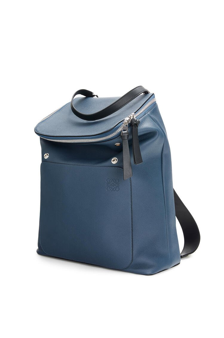 LOEWE Goya backpack in soft grained calfskin Indigo pdp_rd