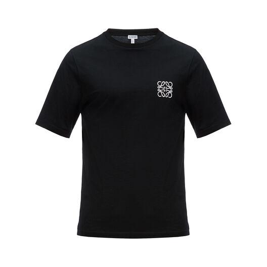LOEWE Anagram T-Shirt Black front