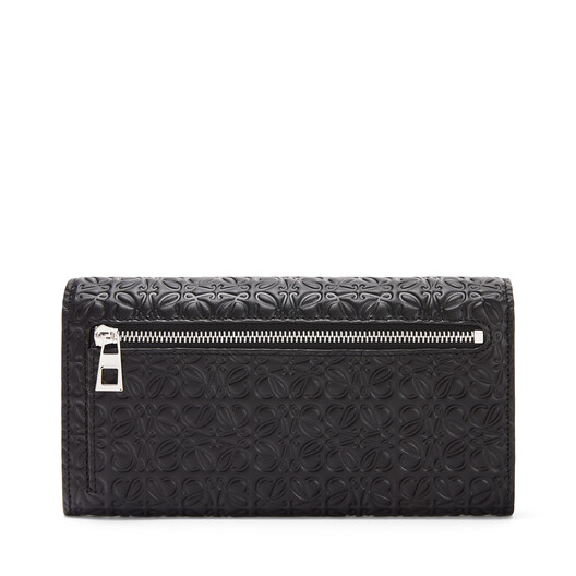LOEWE Repeat Continental Wallet ブラック front