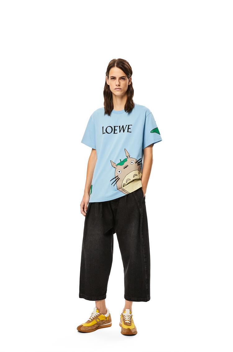 LOEWE Camiseta Totoro en algodón Azul pdp_rd