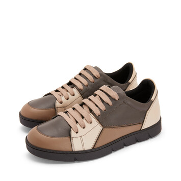 LOEWE Puzzle Sneaker Taupe front