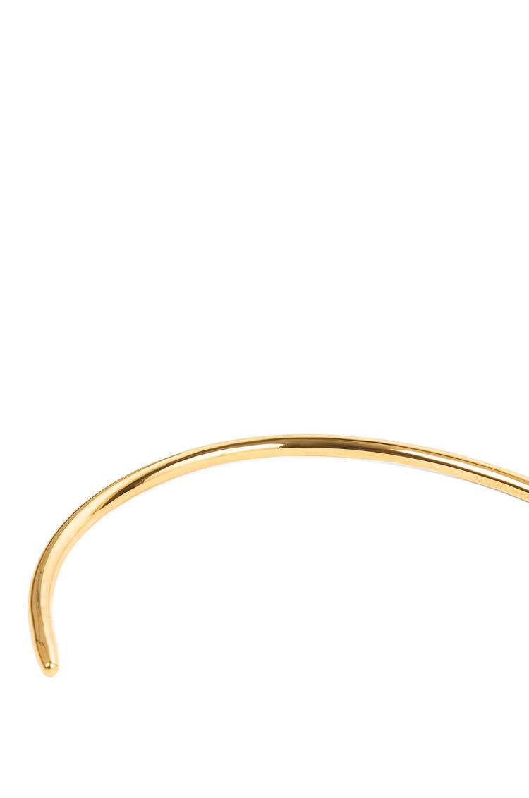 LOEWE NAIL CHOKER Gold/Tan pdp_rd