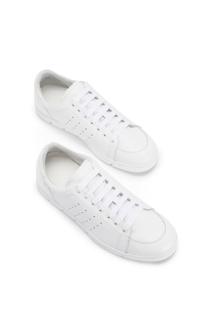 LOEWE Soft sneaker in calf 白色 pdp_rd