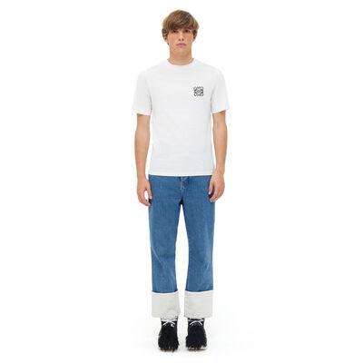 LOEWE アナグラム T-シャツ ホワイト front