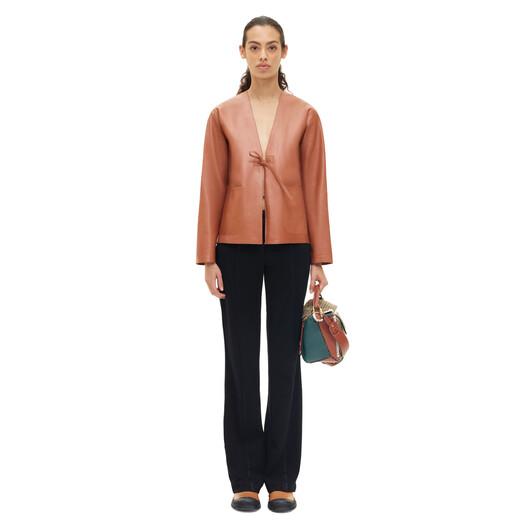 LOEWE Jacket Tan front