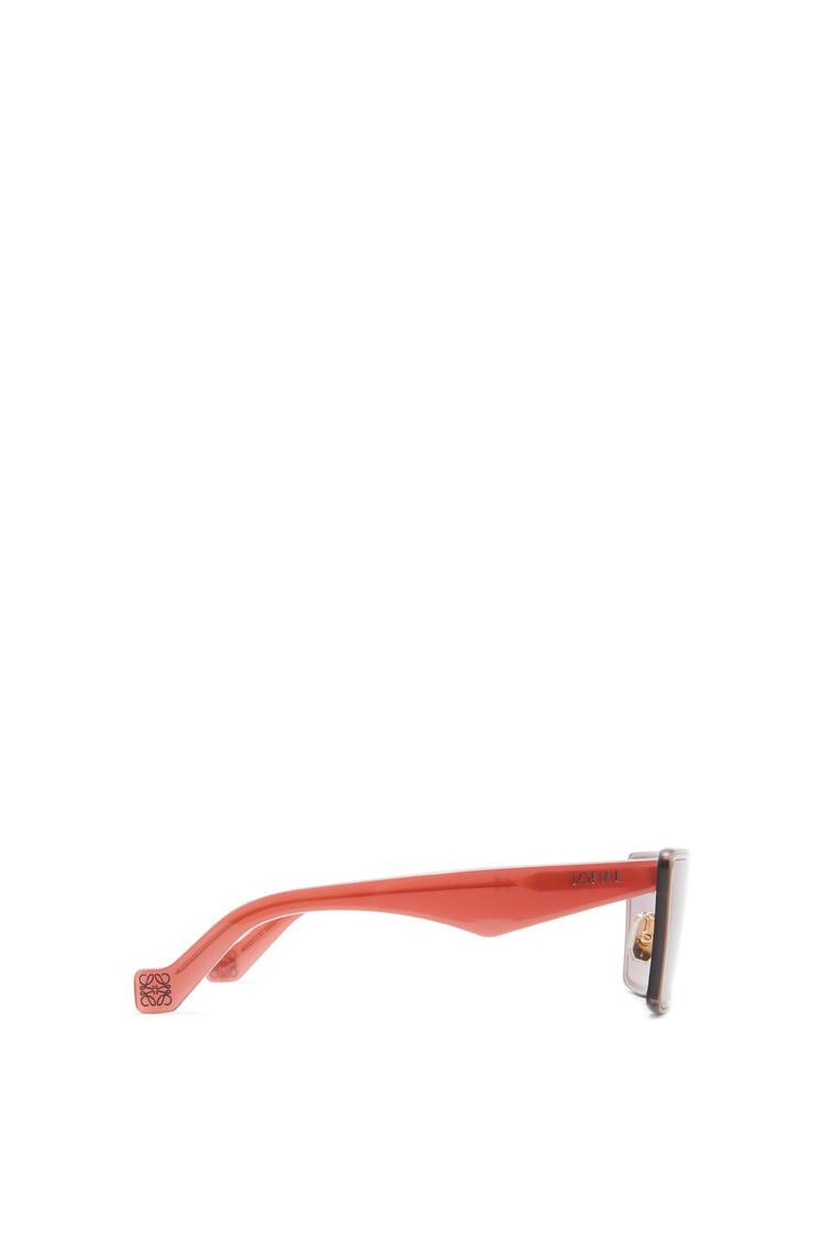 LOEWE 小号面罩太阳镜 暗红色 pdp_rd