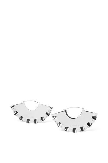 LOEWE Frills Earrings Palladium pdp_rd