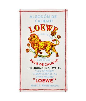 LOEWE 105X170 タオルエルレオン イエロー front