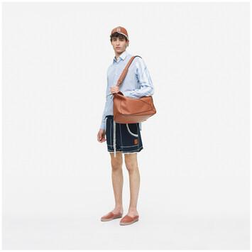 LOEWE Puzzle Xl Bag 棕色 front