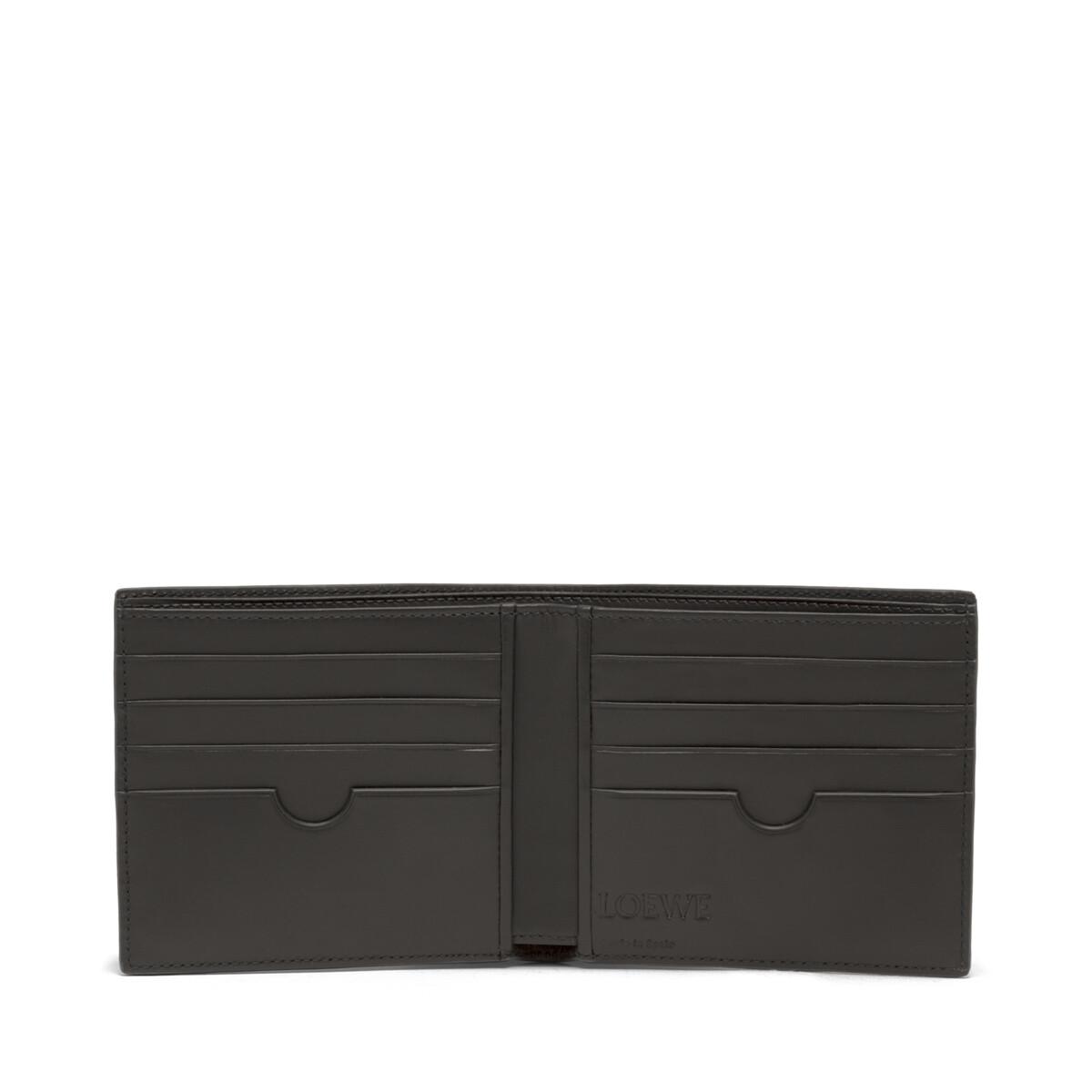 LOEWE Puzzle Bifold Wallet Black front