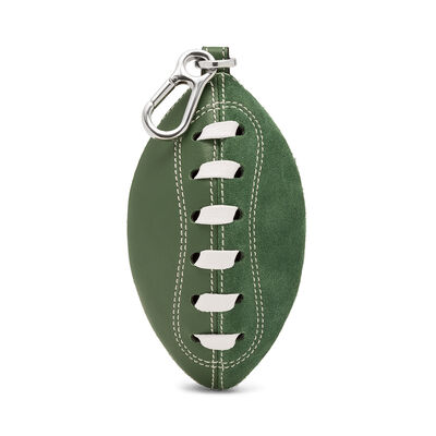 LOEWE Rugby Charm Green/Paladium front