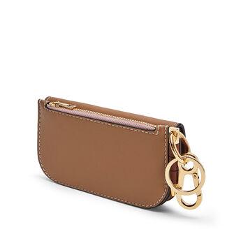 LOEWE Gate Mini Wallet Mocca/Powder front