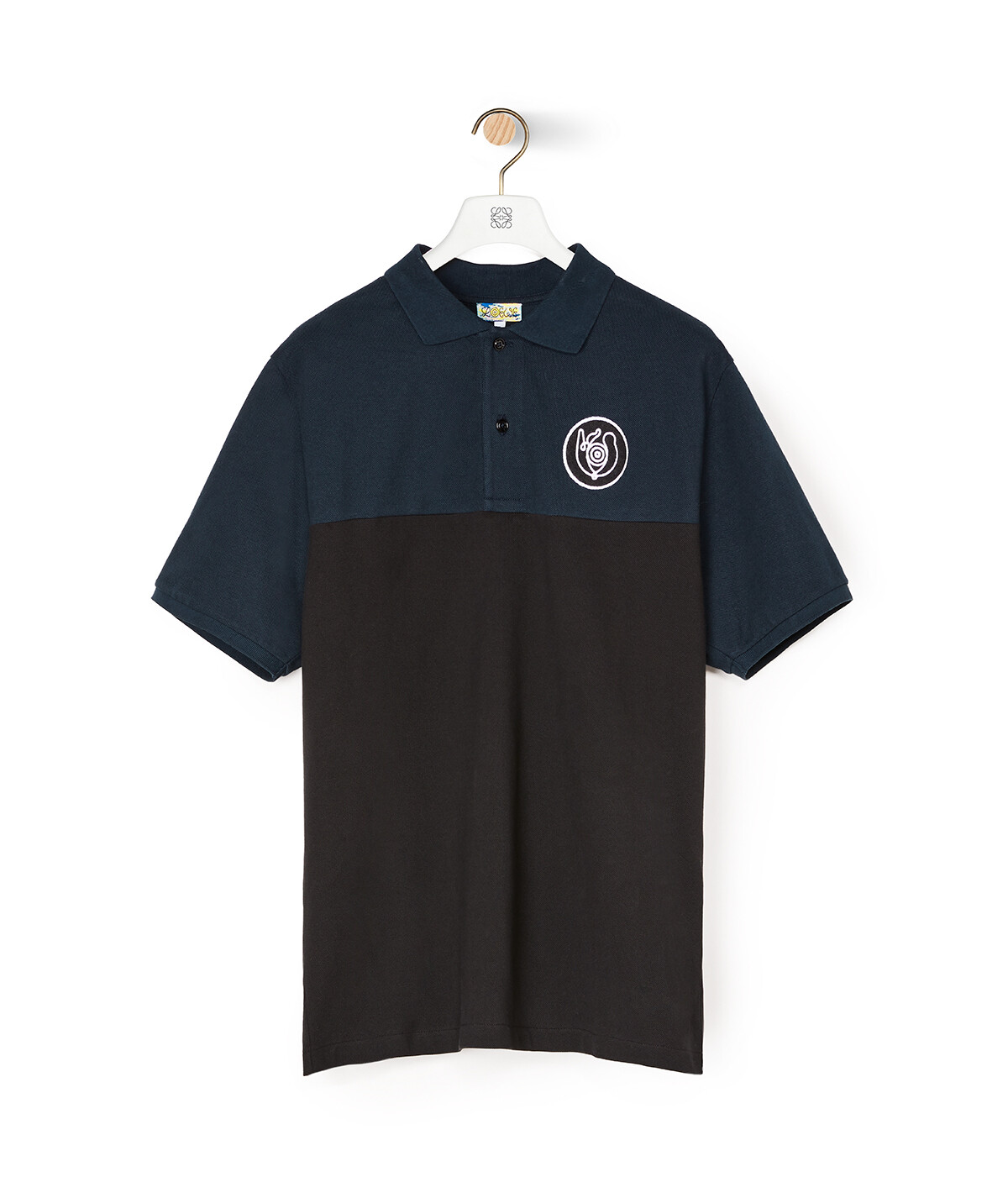 LOEWE Eln Polo Navy Blue/Black front