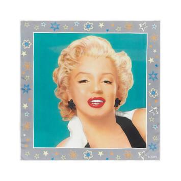 LOEWE 90X90 Scarf Marilyn Multicolor front