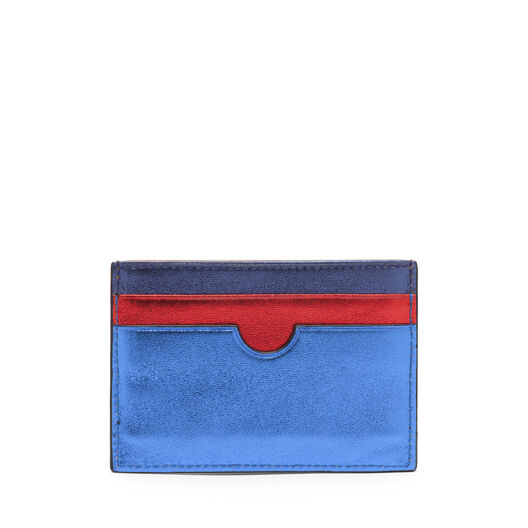 LOEWE Tarjetero Plano Rainbow Multicolor Metalico all
