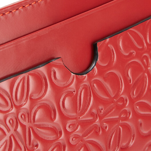 LOEWE Plain Cardholder Pomodoro front
