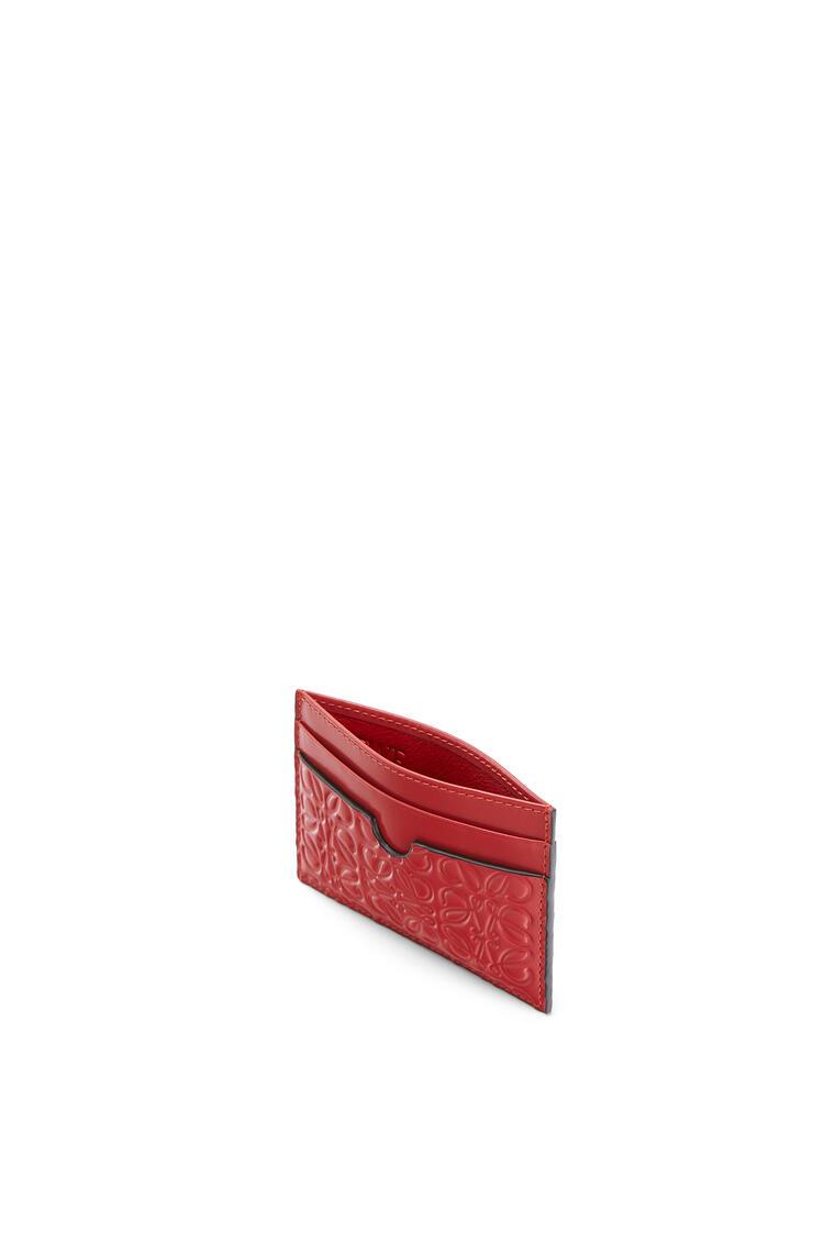 LOEWE Plain Cardholder In Calfskin Pomodoro pdp_rd