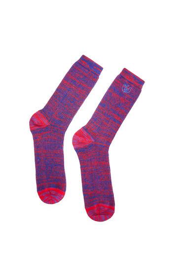 LOEWE Socks In Polyester Red/Blue pdp_rd