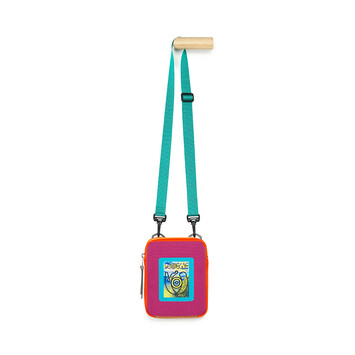 LOEWE Eye/Loewe/Nature Crossbody Bag Violet/Orange front