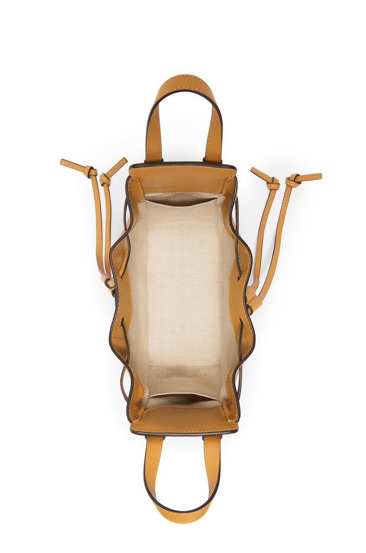 LOEWE ハンモック ドローストリングバッグ ミニ(ナパ カーフスキン) ライトキャラメル pdp_rd
