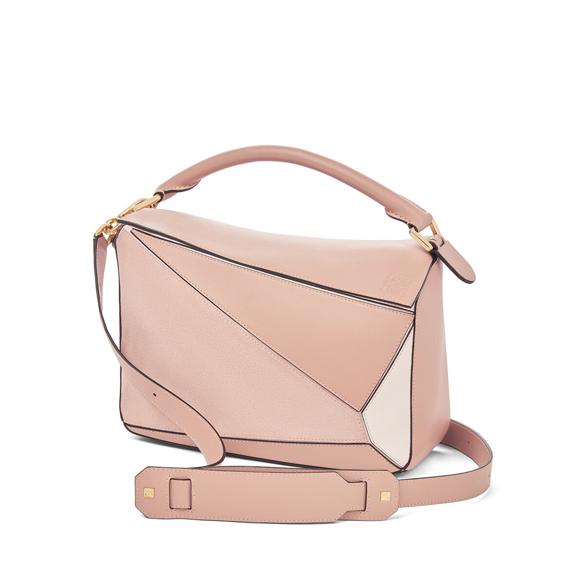 LOEWE Bolso Puzzle Polvo Multitono front