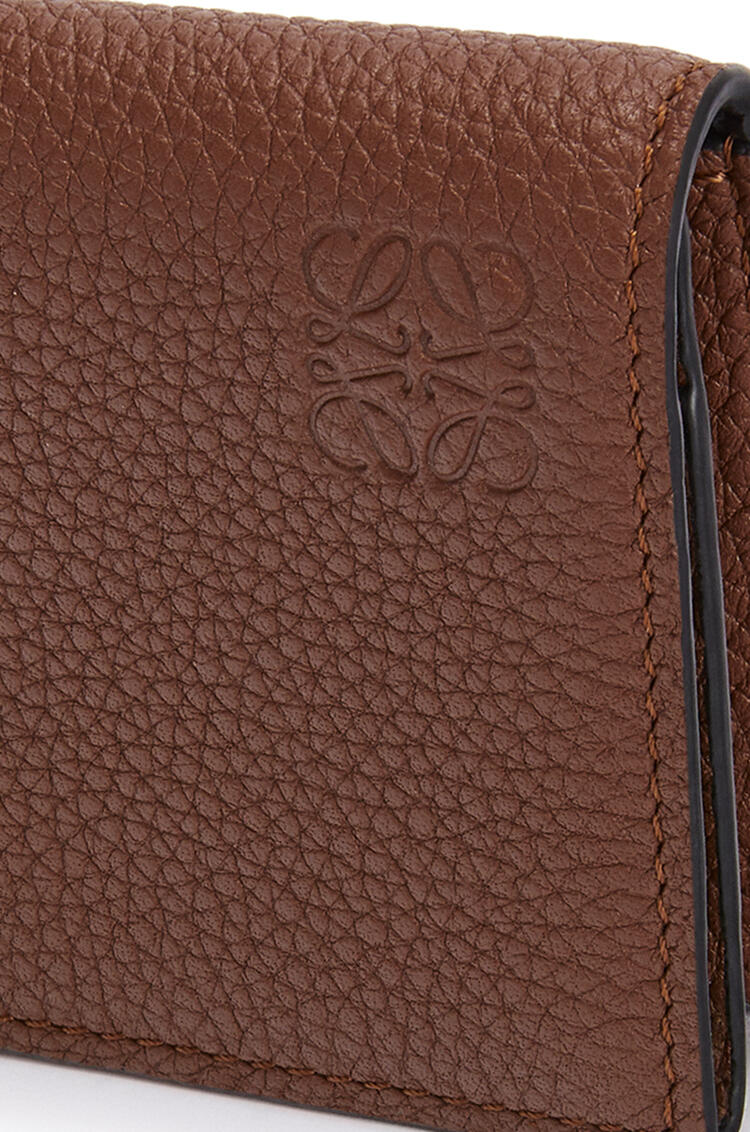 LOEWE Business cardholder in soft grained calfskin Cognac pdp_rd