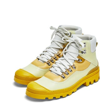 LOEWE Hiking Boot Amarillo Multitono front