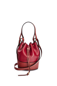 LOEWE Small Balloon bag in nappa calfskin Deep Red/Dark Rust pdp_rd