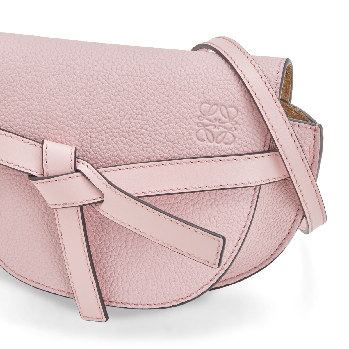 LOEWE Gate Mini Bag Pastel Pink front