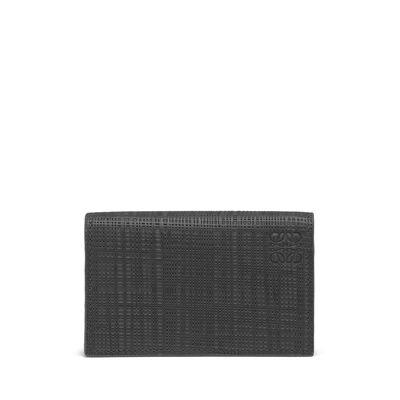 LOEWE Business Card Holder Dark Grey front