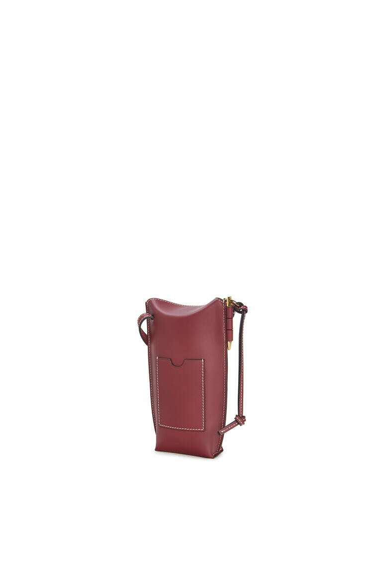 LOEWE Gate Pocket In Soft Calfskin Wine pdp_rd