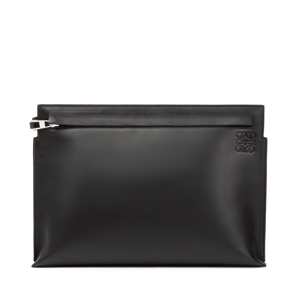 LOEWE T Pouch Stamp Negro front