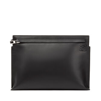 LOEWE T Pouch Stamp Black front