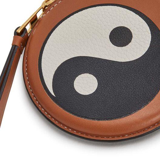 LOEWE Paula Cookie Charm Yin Yang Tan front
