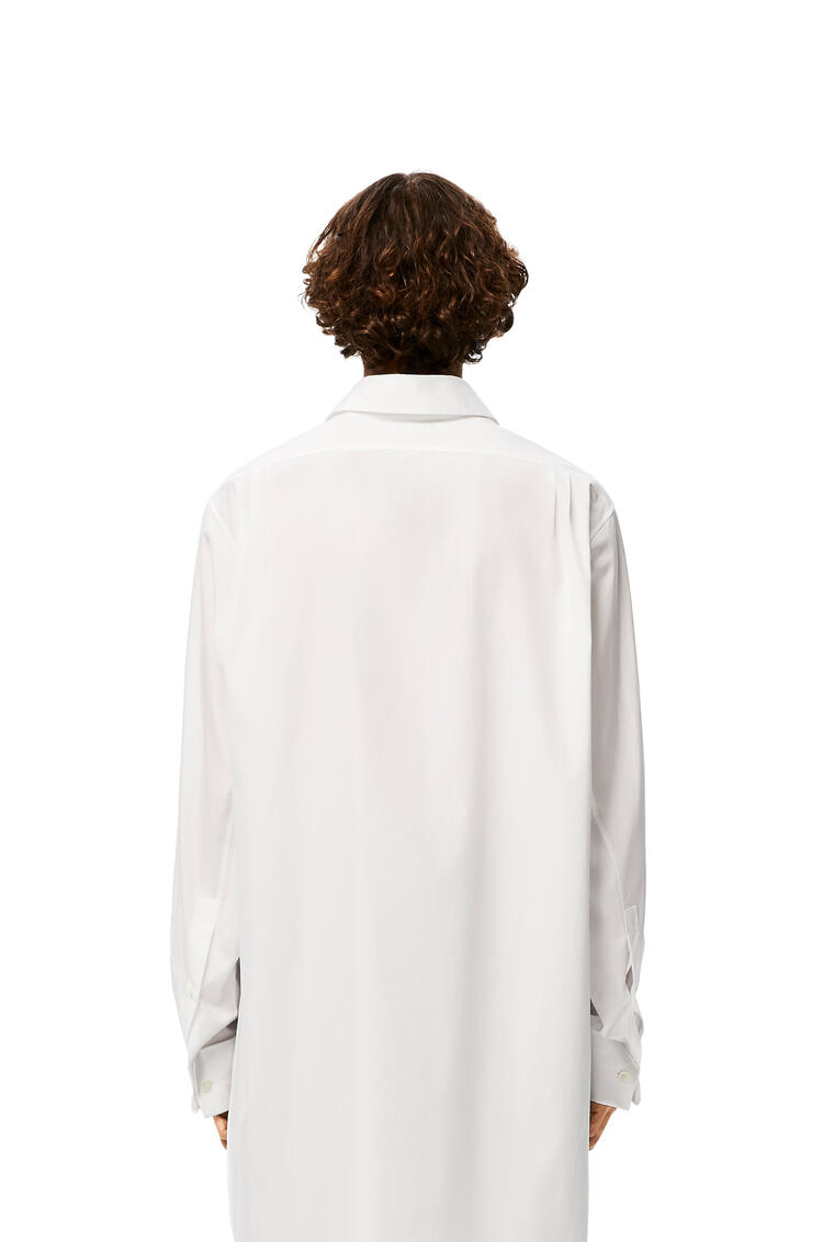 LOEWE Knotted Perls Shirt In Cotton White pdp_rd