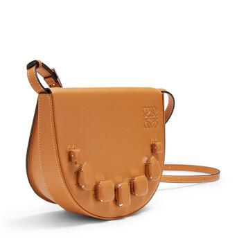 LOEWE Heel Mini Bag Jeweled Amber front
