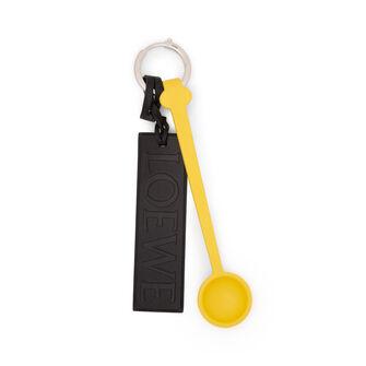 LOEWE Spoon Charm Yellow/Black front