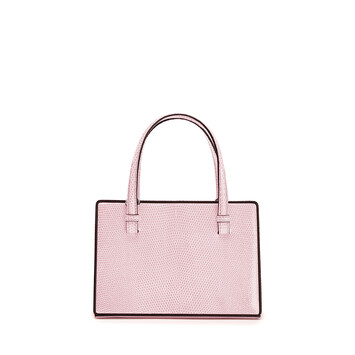 LOEWE Postal Small Bag Icy Pink front